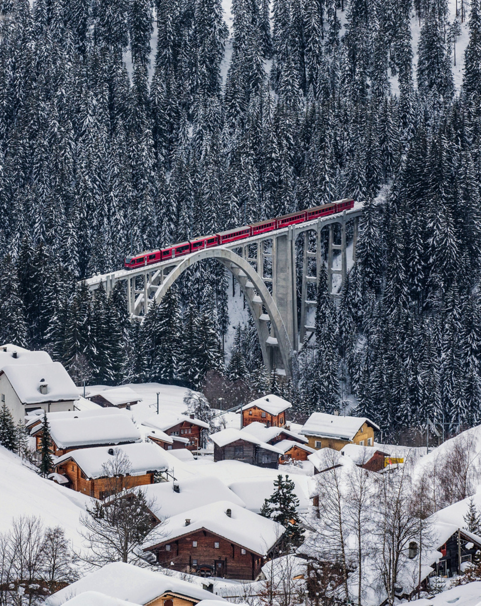 26.) Langwies, Suiza.